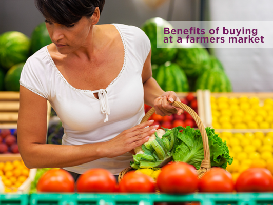 Benefits of buying at a farmers market | UPMC Health Plan