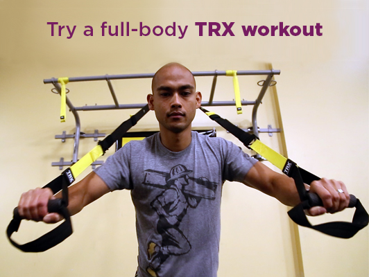 TRX workout | UPMC Health Plan